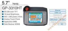 Màn Hình Proface cầm tay, HMI cảm ứng GP-3310HT, 5.7 Inch, mầu