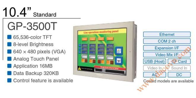 Màn Hình Proface, HMI Proface AGP3500-T, 10.4 Inch, mầu