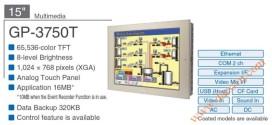 Màn Hình HMI Proface, HMI Proface AGP3750-T1, 15 Inch, mầu