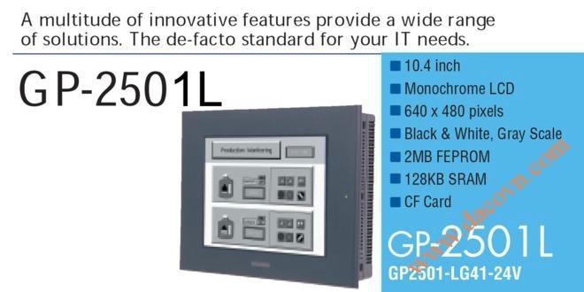 Màn hình cảm ứng HMI Proface GP2501-LG41-24V, 10.4 Inch, đen trắng
