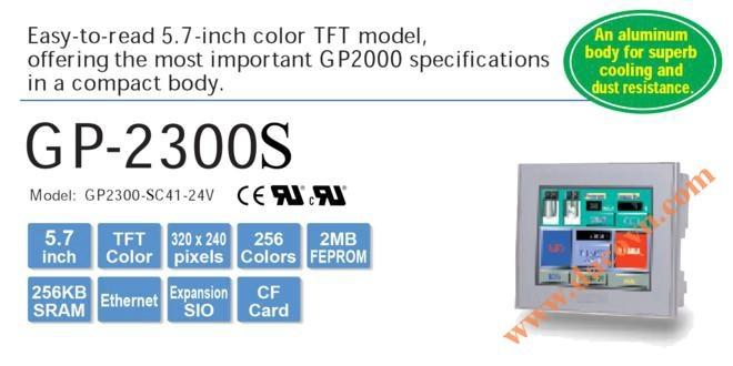 Màn hình cảm ứng HMI Proface GP2300-SC41-24V, 5.7 Inch, mầu