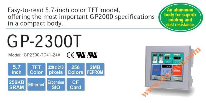 Màn hình cảm ứng HMI Proface GP2300-TC41-24V, 5.7 Inch, mầu