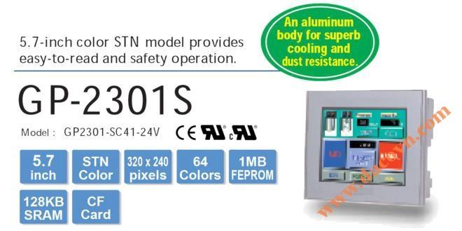 Màn hình cảm ứng HMI Proface GP2301-SC41-24V, 5.7 Inch, mầu