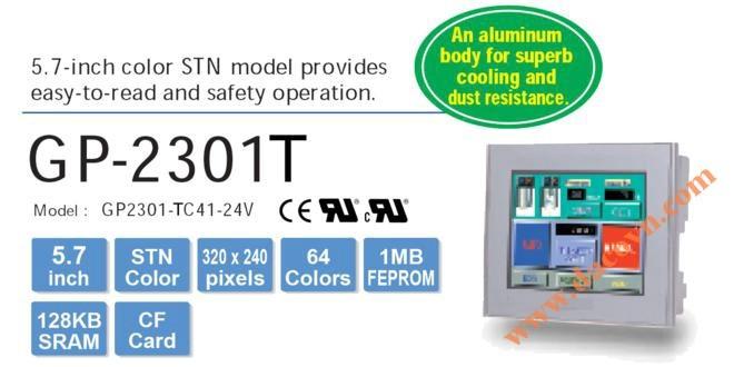 Màn hình cảm ứng HMI Proface GP2301-TC41-24V, 5.7 Inch, mầu