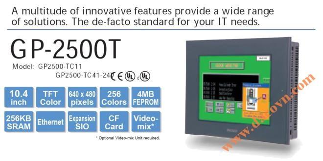 Màn hình cảm ứng HMI Proface GP2500-TC41-24V, 10.4 Inch, mầu
