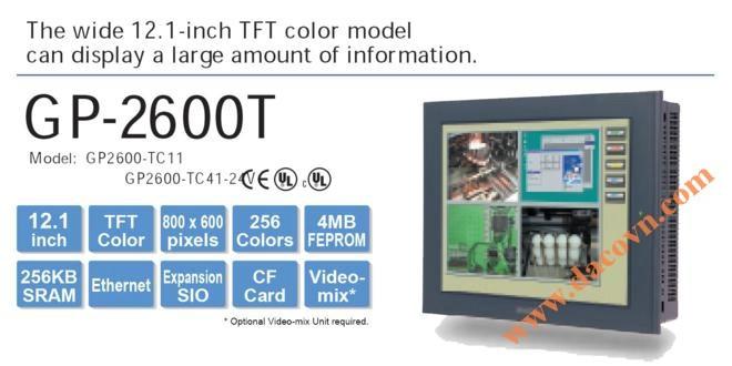 Màn hình cảm ứng HMI Proface GP2600-TC11, 12.1 Inch, mầu