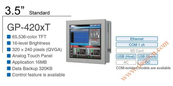 Thiết bị Màn Hình HMI Proface PFXGP4201TAD, 3.5 Inch, mầu