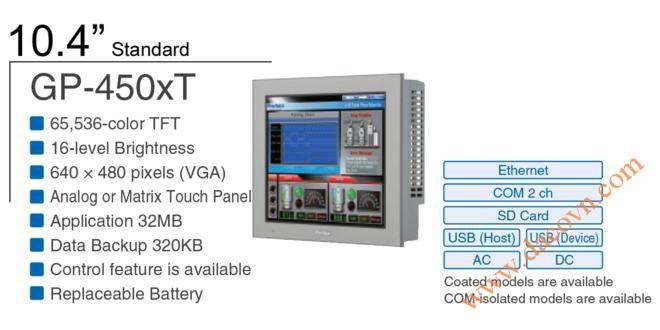 Thiết bị Màn hình cảm ứng HMI Proface PFXGP4501TM, 10.4 Inch, mầu