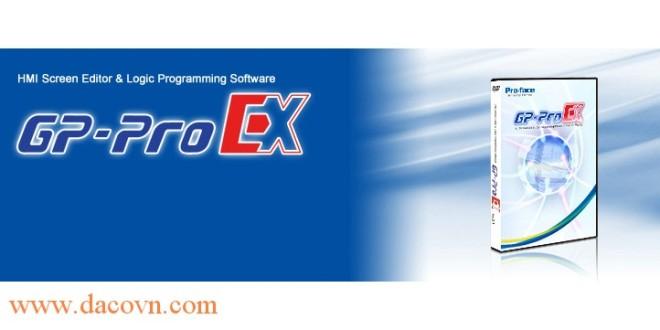 Phần mềm lập trình màn hình Proface HMI GP-PROEX-Ver.4.03.400