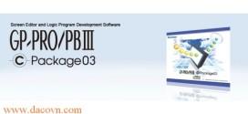 Phần mềm lập trình màn hình Proface HMI GP-PROPB C-Package03 (V7.0.1)