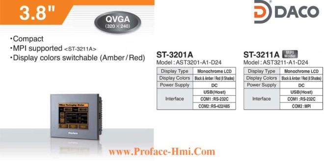 ST3201 Màn hình cảm ứng Proface HMI AST3201, 3.8 Inch