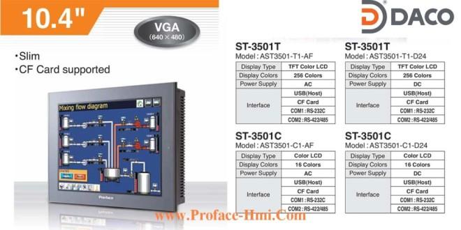 ST3501 Màn hình cảm ứng Proface HMI AST3501, 10.4 Inch, Màu