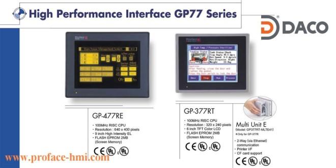 GP477 Màn hình Proface, Man hinh Proface HMI GP477, 9 Inch