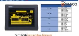 GP470 Màn hình Proface, Man hinh Proface HMI GP470, 9 Inch