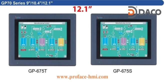 GP675 Màn hình Proface, Man hinh Proface HMI GP675, 12.1 Inch