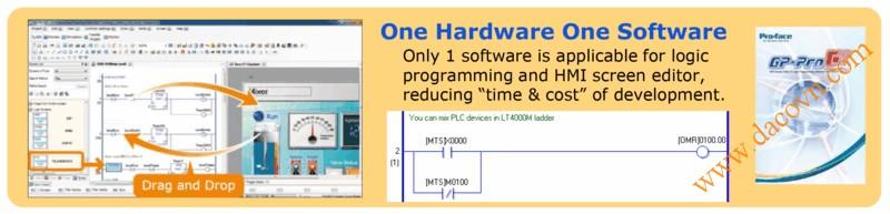Màn hình cảm ứng HMI Proface LT4000M - Phần mềm