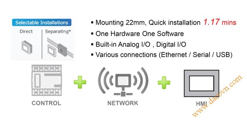 Màn hình cảm ứng HMI Proface LT4000M - Đặc điểm