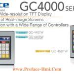 GC4000 Man hinh cam ung HMI Proface GC4000